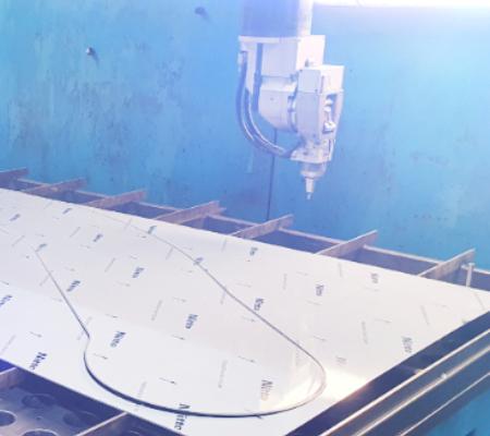 Five Axis Laser Cutting Machine